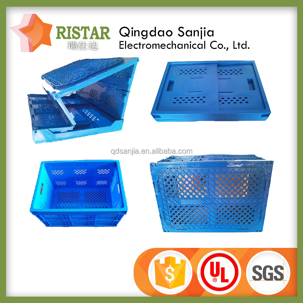 foldable storage box Folding PP Plastic Boxes