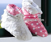 2014 soft frabic fashionable winter warm wool indoor shoes