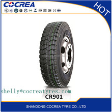 COCREA TBR factory special mine tire suit CR901 10.00R20 heavry weight truck tire