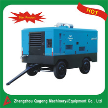 13 Bar Mining Used Trailer Diesel Driven Portable Screw Air Compressor