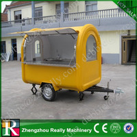 Tractor drawbar food truck / mobile food truck / food truck for sale