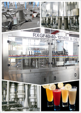 Low Investment Orange Juice Machine for Fruit Beverage automatic 3 in1 juce filling machine