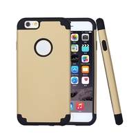 BRG For iPhone 6 Case,2 in 1 Shield Case for iPhone Style Hard PC Outer Shell With Soft inner TPU Hard Cover