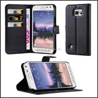 Premium Wallet Leather Moblie Phone Case Cover for Samsung Galaxy S6 Active