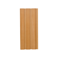 WPC Wood Plastic Composite wall board, interior decorative wall panel high quality 204*16mm