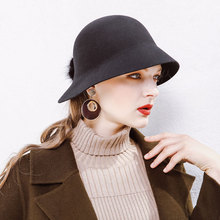 Wholesale Low MOQ Ladies Felt Hat Wool Dress Hat