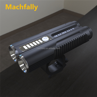 Machfally 2016 Super bright aluminum alloy led bike lights rechargeable led bicycle light