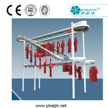 conveyor for laundry, dry cleaning conveyor, dry cleaning conveyor for sale