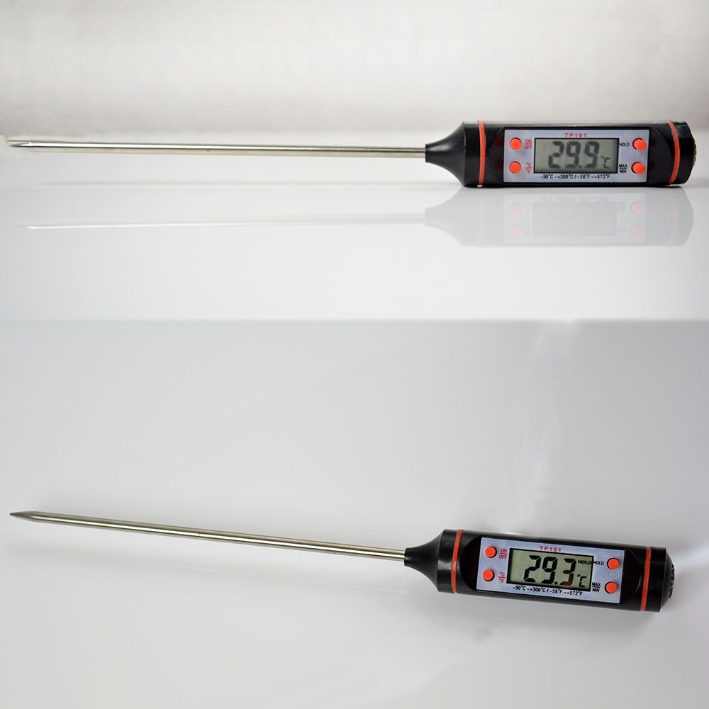 TP 101 Digital LCD Cooking Kitchen Meat Food BBQ Thermometer