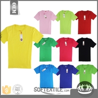 softextile Fashionable high quality custom made wholesale t-shirt made in thailand/t-shirt manufacturer lahore pakistan