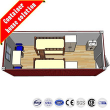 3D layout for container homes for sale