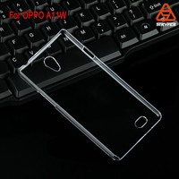 For OPPO A11W transparent clear blank crystal phone case/phone cover rubber black color for For OPPO A11W