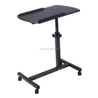height adjustable , movable ,desktop roll laptop table