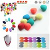 Chunky Jewellery Silicone Beads For Necklaces/Shamballa Fashion Bead