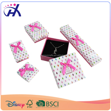 Custom Logo Printing Cardboard unique Jewelry Gift Paper Packaging Box with lid