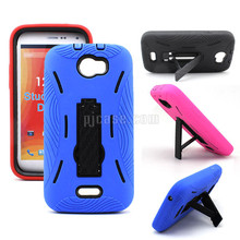 Hybrid Combo Robot Case Cover for blu studio xl d850q with Kickstand case