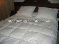 Hotel down quilt, white eider down quilt, box stitch down quilt