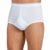 2017 Cheap OEM service boys white briefs tactel underwear