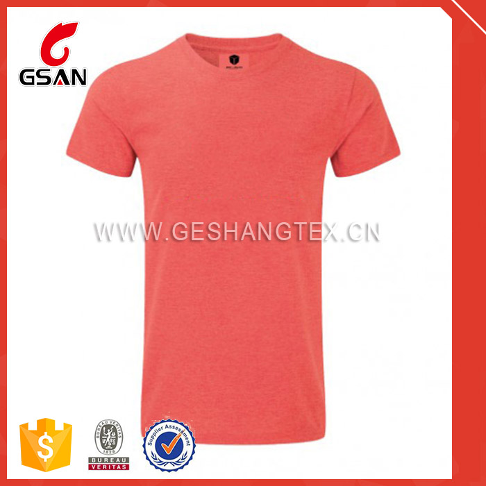cheap price overseas plain most popular color t-shirt