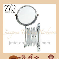 Factory Outlets Extensible chrome Plated concave mirror