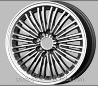 New type with long life car alloy wheel rims F359