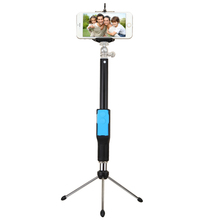 zoom function selfie stick with remote bluetooth shutter
