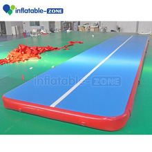 Gym Sport games inflatable air tumble track, inflatable air track for sale , Air mat