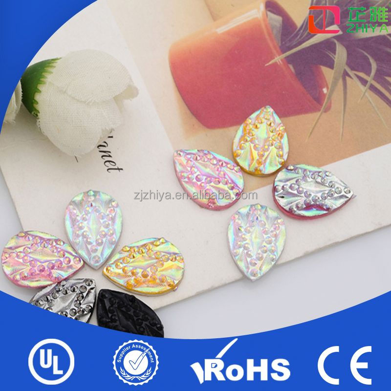 2014 fashion cheap accessory sew on morganite gemstones for free sample made in China