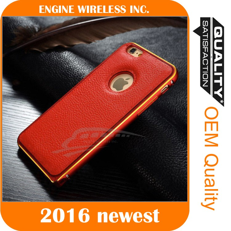 high quality mobile phone leather case for iphone 6s plus case cover