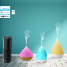 Alexa Smart Home Essential Oil Diffuser Aroma Humidifier work with Amazon Echo Dot