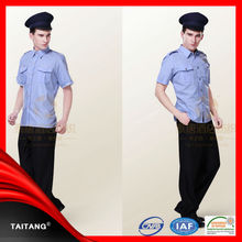 Wholesale public safety new design short sleeves security guard uniforms
