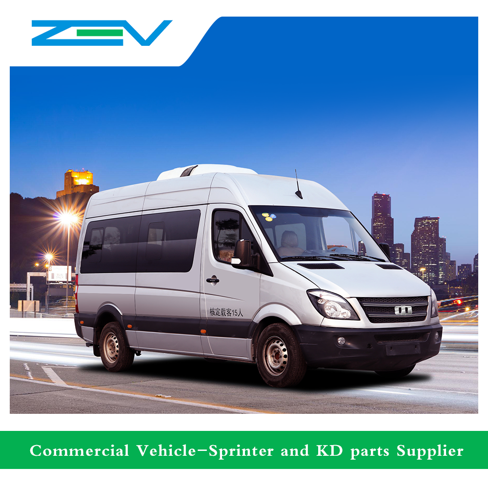 ZEV auto CDK6604BEV electric bus mini bus sprinter vehicle for sale