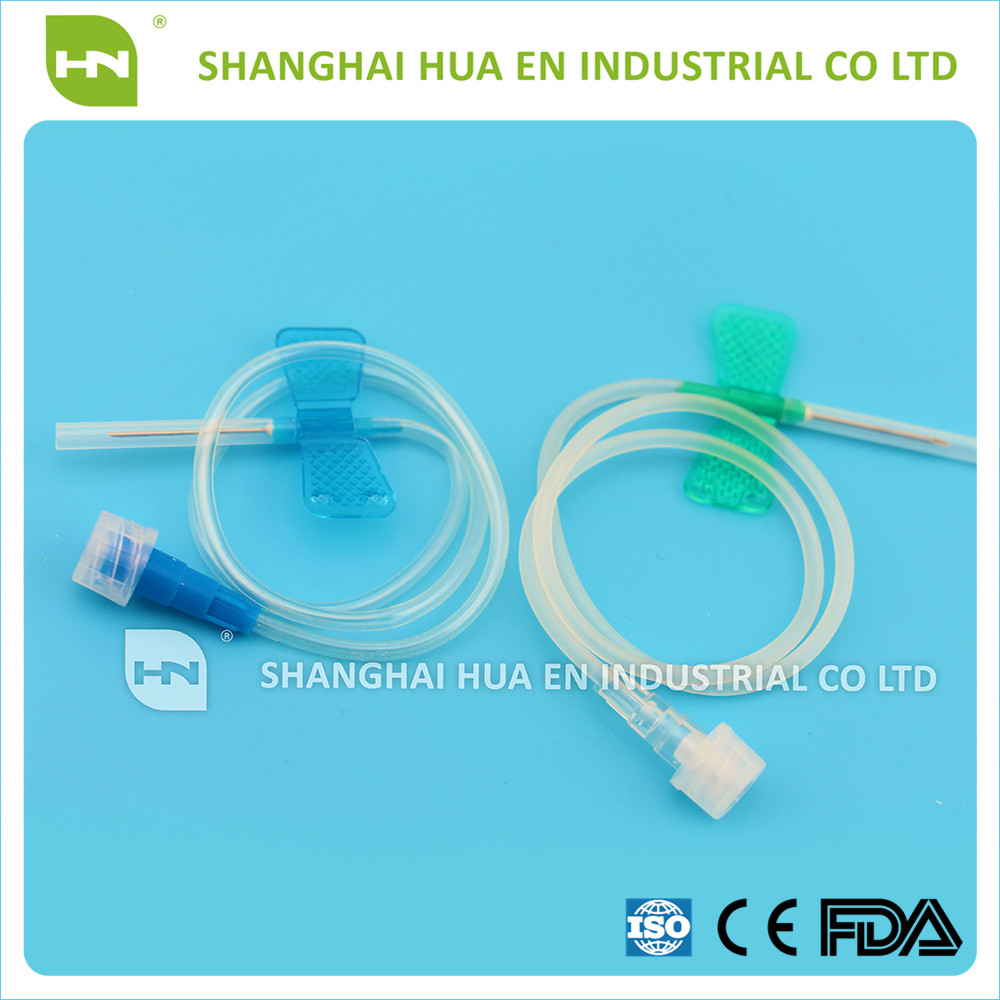 Medical 20G Disposable sterile vacuum butterfly needle