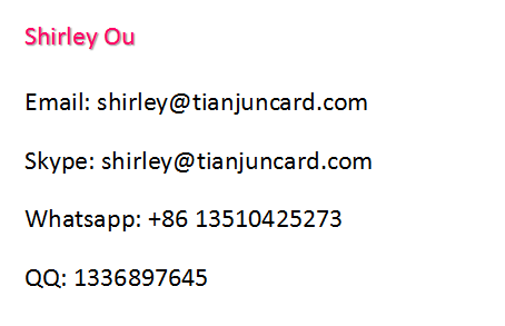ISO14443A Fudan F08 chip rfid card with magnetic strip