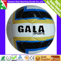 official size 5 promotion pvc soccer ball 2016 custom logo TPU leather laminated promotional training footballs