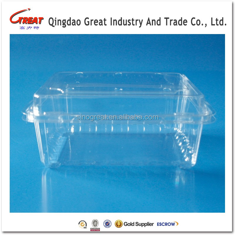 Fruit Plastic Packaging Blueberry Blister Container trays