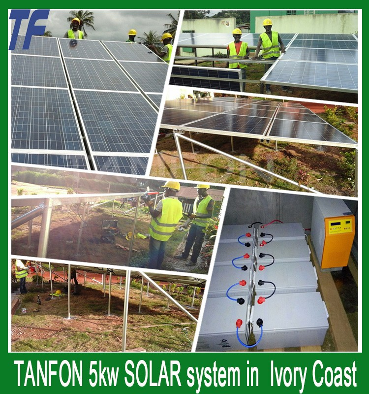 Tanfon Charger Inverter 3KW Off Grid Solar Inverter 3000w Hybrid Inverter Built In MPPT