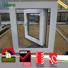 PVC Plastic exterior double pane storm window