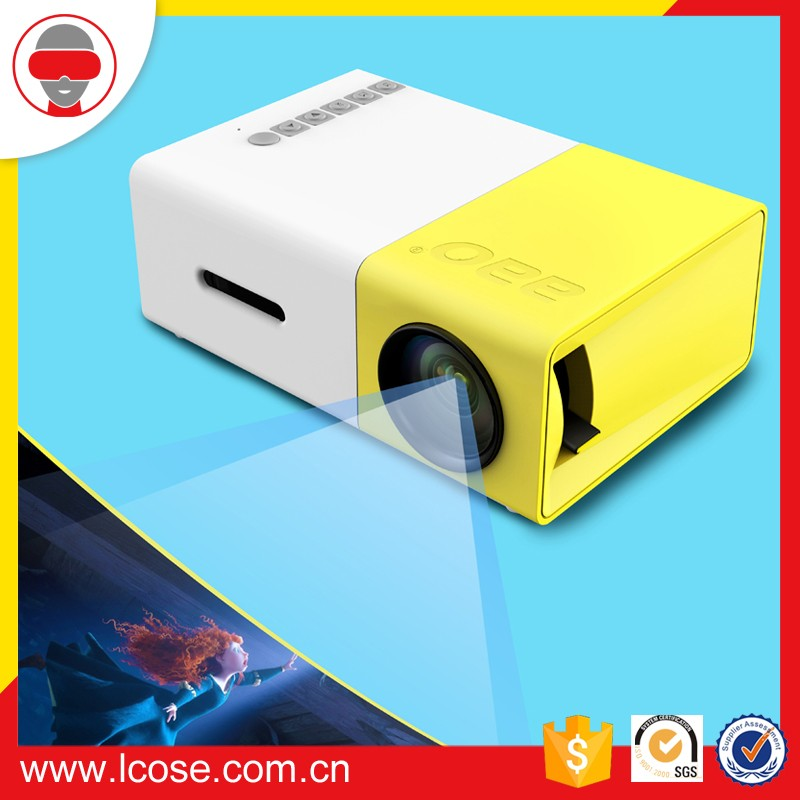 Original factory YG300 Mini Projector With Tv Tuner Bluetooth Mini Projector