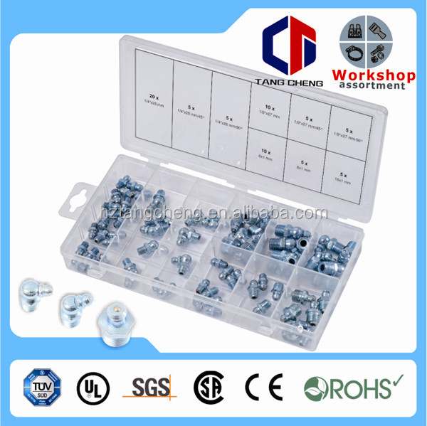 70pc Grease Nipple Fitting Assortment 70pc Grease Nipple Fitting