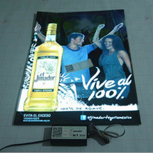 outdoor sound activated el display e-ink billboard advertising/led light posters