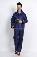 reusable rain suit/raincoat with Printed fabric