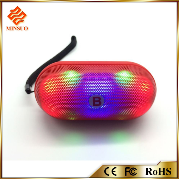 Hot sale classics LED Flash Light Bluetooth Speaker