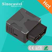 2G and 3G car or truck OBD GPS tracker with fuel consumption monitor, plug and play
