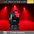 2017China 7x 15w 4-in-1 rgbw led wash zoom moving head stage light for party