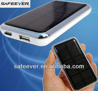 3500 mAh mobile solar charger for iphone 5, mini ipad,Blackberry with CE&ROHS&FCC solar panel chargers for mobile