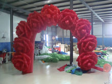 inflatable flower arch balloon arch inflatable wedding arch