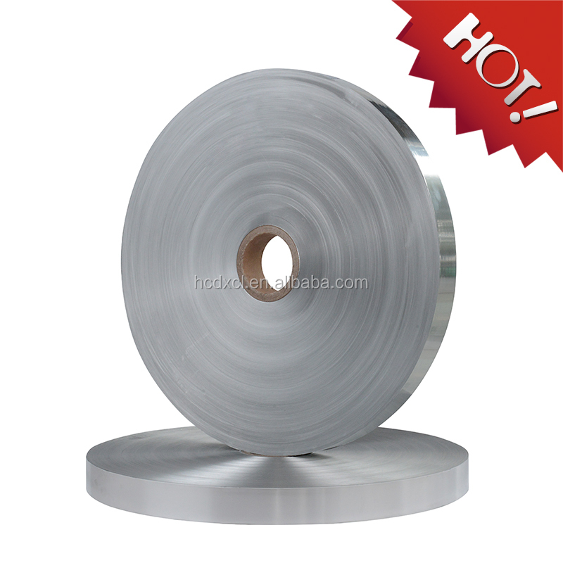 FOIL PET tape for insulation material for packing HC Foil pet tape with fire retardant glue