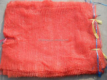orange 40x63 Raschel vegetable mesh bags