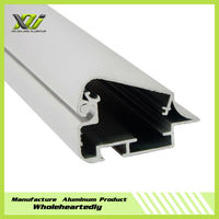 Aluminum extrusion Backlit led Light box profile snap frame section